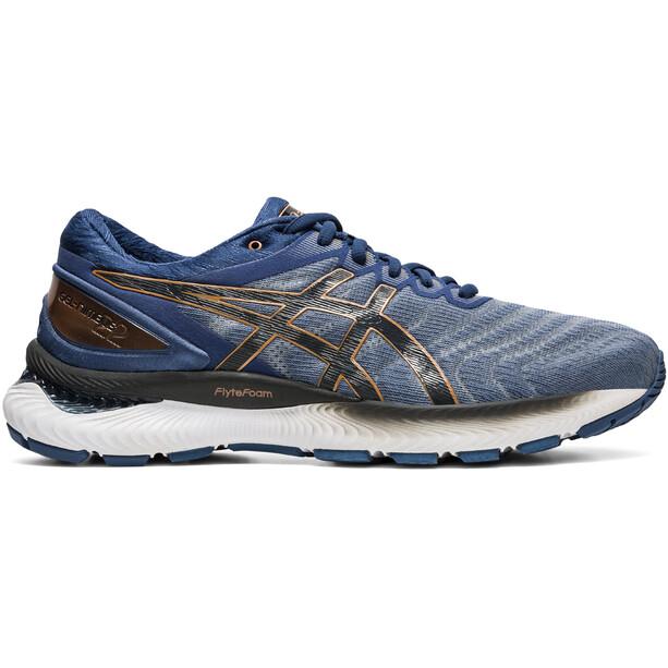 asics Gel-Nimbus 22 Schuhe Herren sheet rock/graphite grey