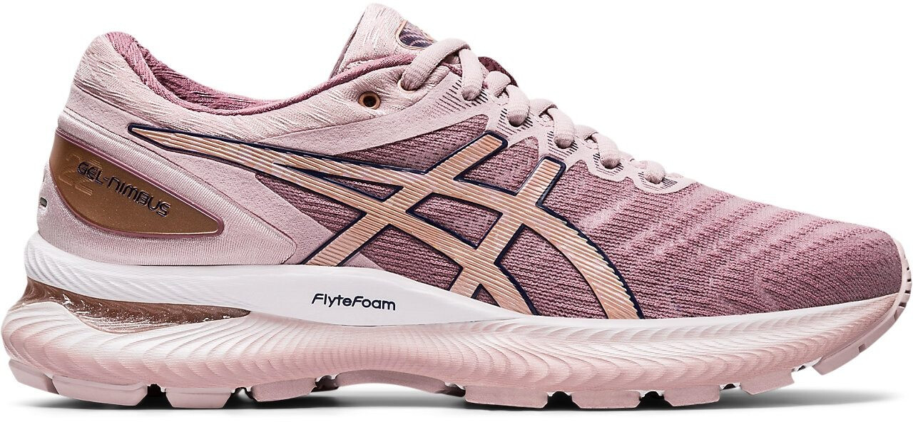 asics Gel-Nimbus 22 Schuhe Damen watershed rose/rose gold