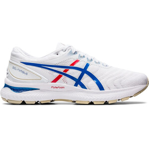 asics Gel-Nimbus 22 Retro Tokyo Schuhe Herren white/electric blue white/electric blue