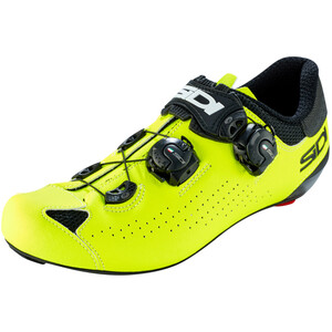 Sidi Genius 10 Shoes Men ブラック/イエロー