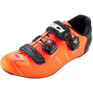 Sidi Ergo 5 カーボン Shoes Men マット オレンジ/ブラック