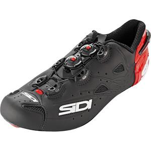 Sidi Shot Shoes Men マット ブラック/レッド