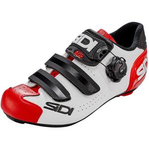 Sidi Alba 2 Shoes Men ホワイト/ブラック/レッド