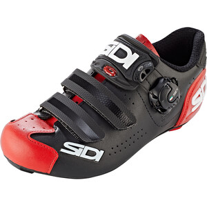Sidi Alba 2 Shoes Men ブラック/レッド