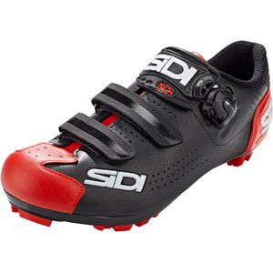 Sidi MTB Trace 2 Kengät Miehet, musta/punainen musta/punainen