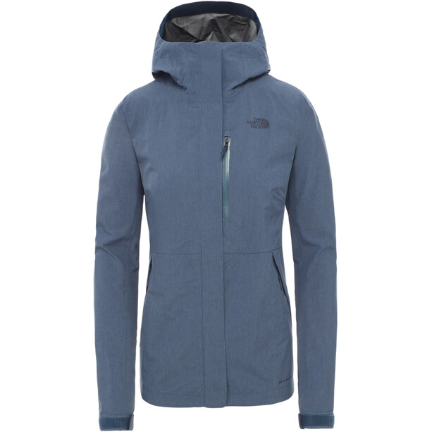 The North Face Dryzzle FutureLight Jacke Damen blue wing teal heather