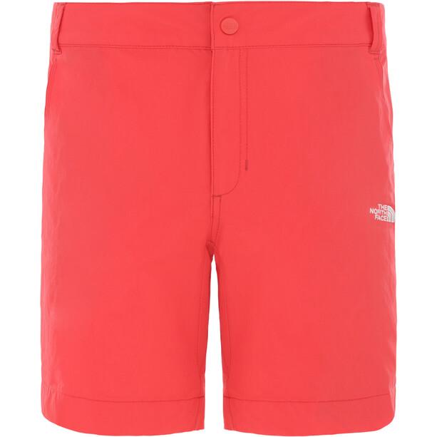 The North Face Exploration Shorts Kit, Regular Femme, rouge
