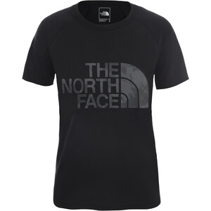 The North Face Graphic Play Hard Kurzarm T-Shirt Damen tnf black tnf black
