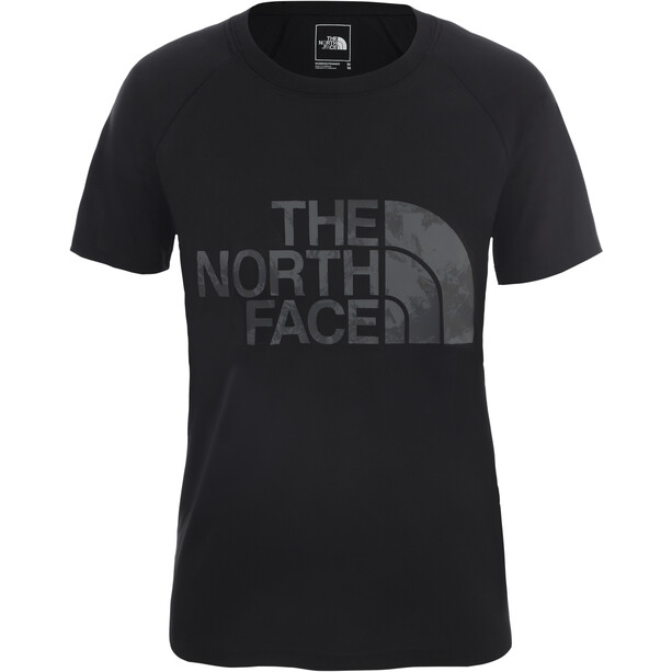 The North Face Graphic Play Hard Kurzarm T-Shirt Damen tnf black