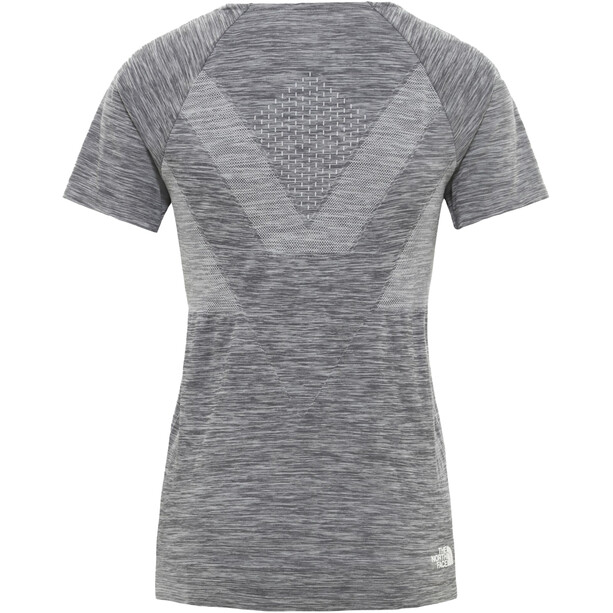 The North Face Impendor Seamless T-shirt Femme, gris
