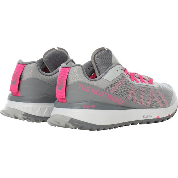 The North Face Ultra Swift Schuhe Damen griffin grey/mr.pink