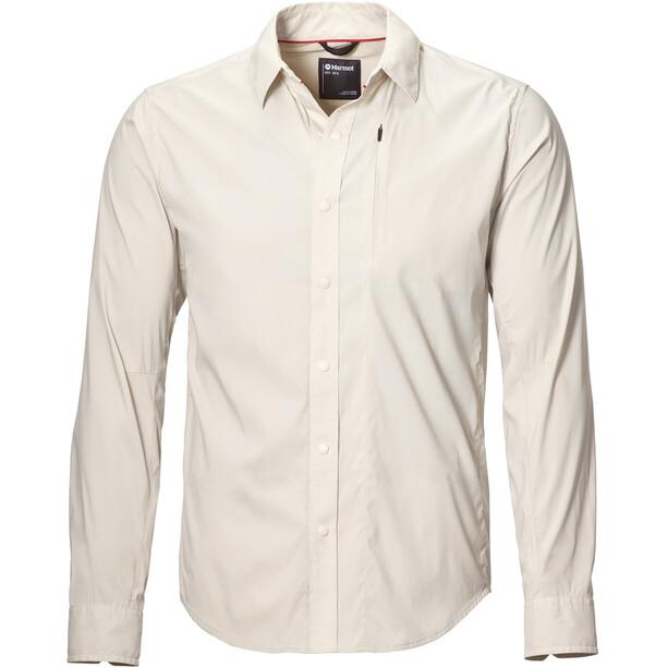 Marmot Runyon LS Shirt Herr moonbeam