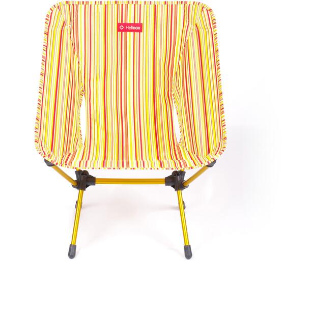 Helinox One Stuhl red stripe/golden yellow