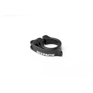 Sixpack Menace Collier de selle Ø31,8mm, noir noir