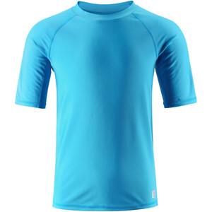 Reima Dalupiri Swim Shirt Barn cyan blue cyan blue