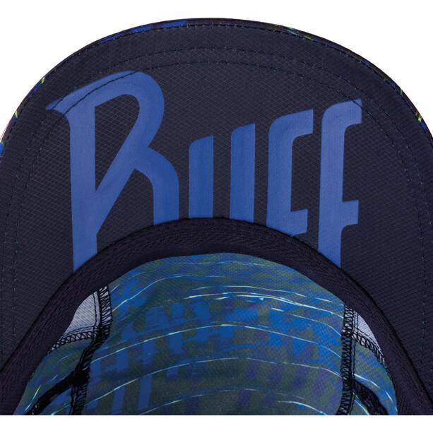 Buff Pro Run Cap svart/blå