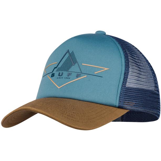 Buff Trucker Cap Herren blau/beige