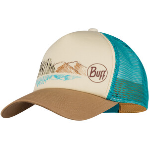 Buff Lifestyle Casquette trucker Femme, beige/turquoise beige/turquoise