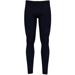 Odlo Suw Natural + Kinship Warm Bl Unterhose Herren diving navy melange diving navy melange