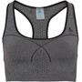 Odlo Seamless Medium Sport BH Damen steel grey melange