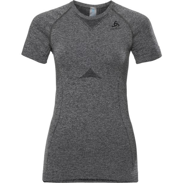 Odlo Performance Light Suw T-shirt Manches courtes col ras-du-cou Femme, gris