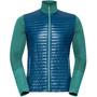 Odlo Engage Full-Zip Midlayer Herren blue opal/lake blue