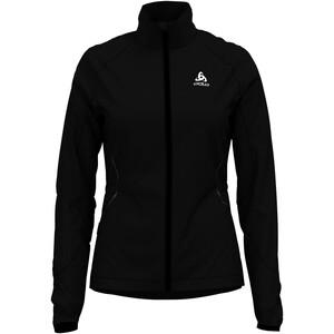 Odlo Zeroweight Windproof Warm Jacke Damen black black