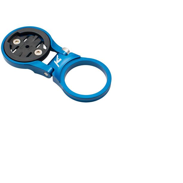 K-EDGE MTB/AH Verstellbare Vorbauhalterung für Garmin blue