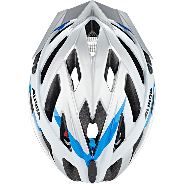 Alpina Panoma 2.0 Helm silver-white cyan