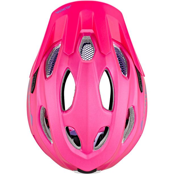 Alpina Carapax Flash Helm Jugend pink/lila