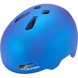 Alpina Hackney Helm Kinder translucent blue translucent blue