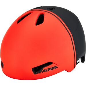 Alpina Hackney Helm Kinder black-red black-red