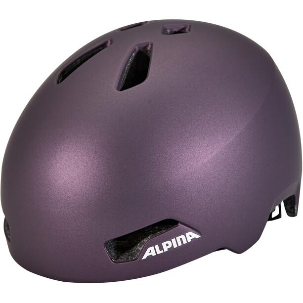 Alpina Hackney Helm Kinder lila