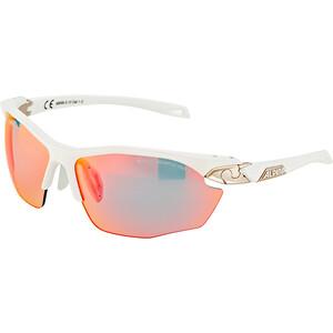 Alpina Twist Five HR QVM+ Brille weiß/silber weiß/silber