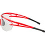 Alpina Eye-5 Shield VL+ Brille red matt-black/black