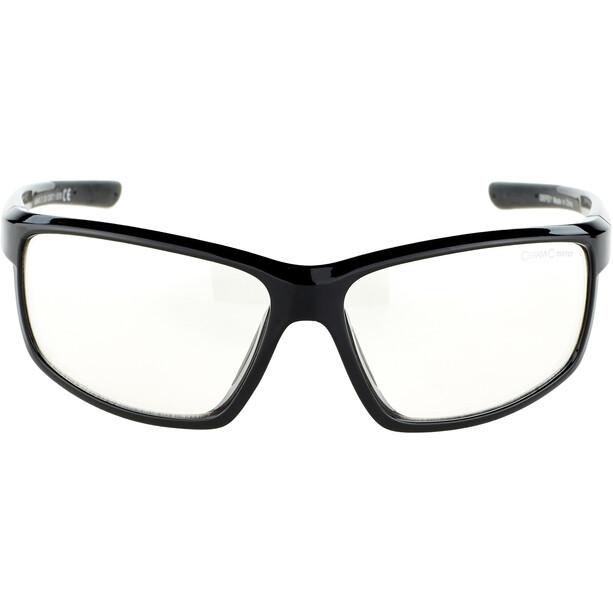 Alpina Defey Brille black matt/clear mirror