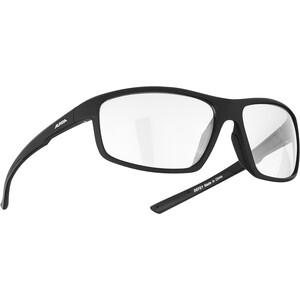 Alpina Defey Brille black matt/clear mirror black matt/clear mirror