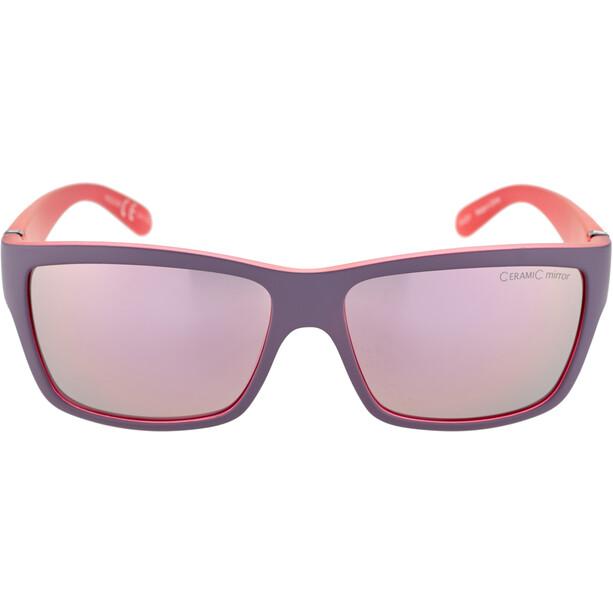 Alpina Kacey Glasses nightshade matt-pink/rose-gold mirror