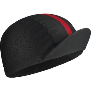 ASSOS Equipe RS Kasket, sort/rød sort/rød