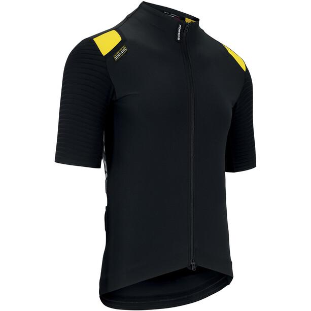 ASSOS Equipe RS Aero Maillot Printemps Automne à manches courtes Homme, noir/jaune