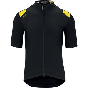 ASSOS Equipe RS Aero Maillot Printemps Automne à manches courtes Homme, noir/jaune noir/jaune