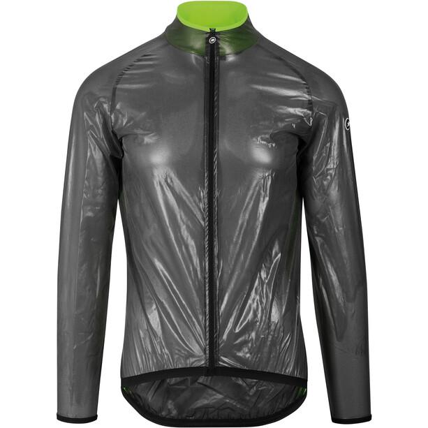ASSOS Mille GT Evo Veste Climat Homme, gris/vert