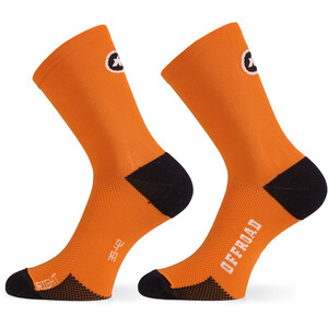 ASSOS XC Socks open orange open orange