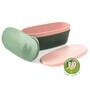 Light My Fire SnapBox Oval BIO 2-Pack sandygreen/dustypink