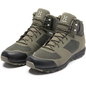 Haglöfs L.I.M Proof Plus Mid Shoes Herr grön/oliv grön/oliv