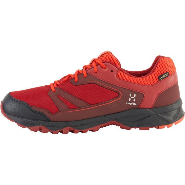 Haglöfs Trail Fuse GT Shoes Herr maroon red/habanero