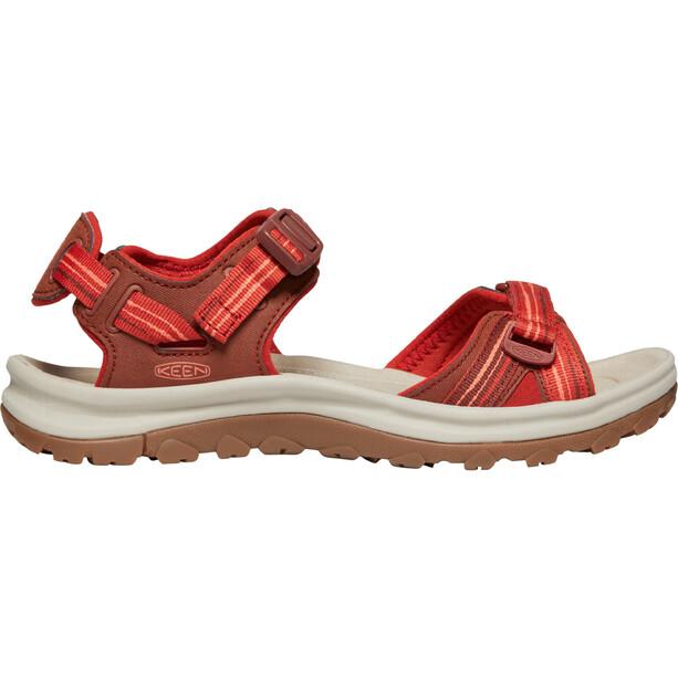 Keen Terradora II Sandaalit Naiset, dark red/coral