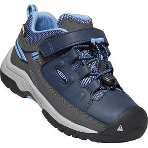 Keen Targhee Low WP Schuhe Kinder blau blau