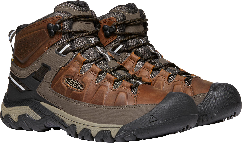 Keen Targhee III Mid WP Shoes Men chestnut/mulch at ...