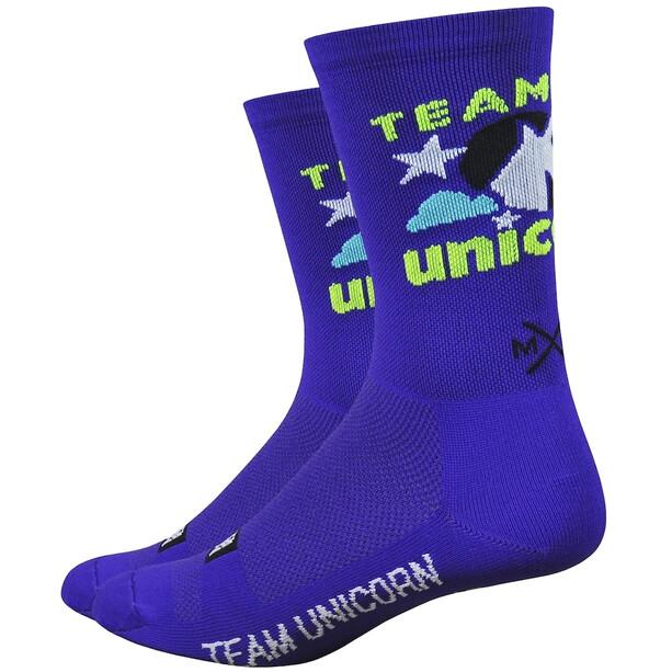 "DeFeet Aireator 6"" Socken team unicorn/purple"